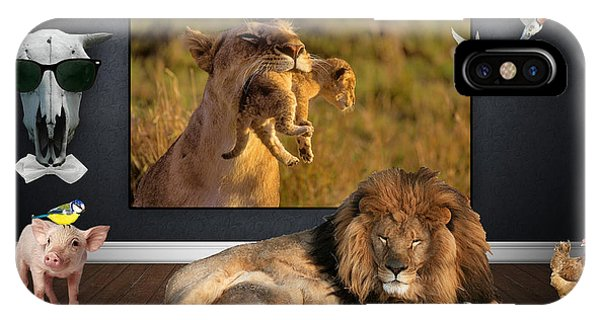 While The Lion Sleeps Tonight IPhone Case