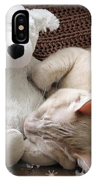 While Visions Of Tuna Fish IPhone Case