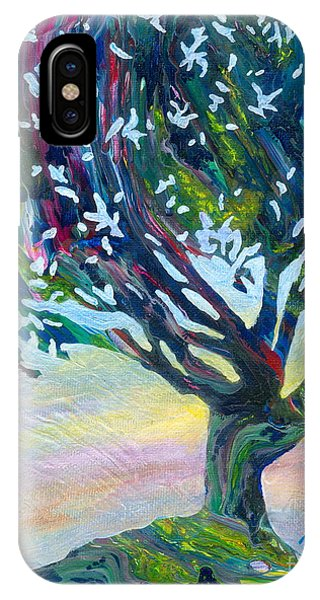 Whimsical Tree Pastel Sky IPhone Case