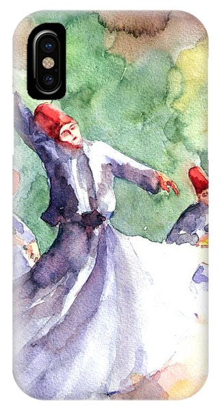 Whirling Dervishes IPhone Case