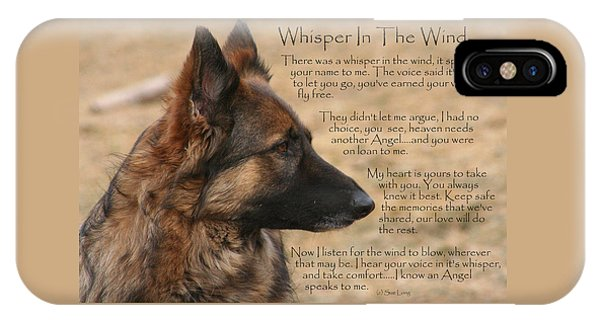 Whisper In The Wind IPhone Case