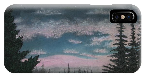 Whispering Pines 02 IPhone Case
