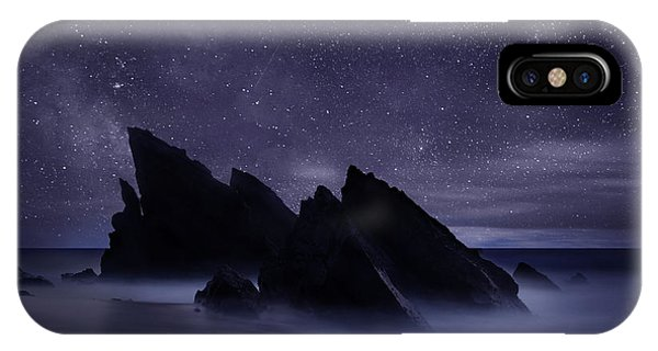 Night iPhone Case - Whispers Of Eternity by Jorge Maia