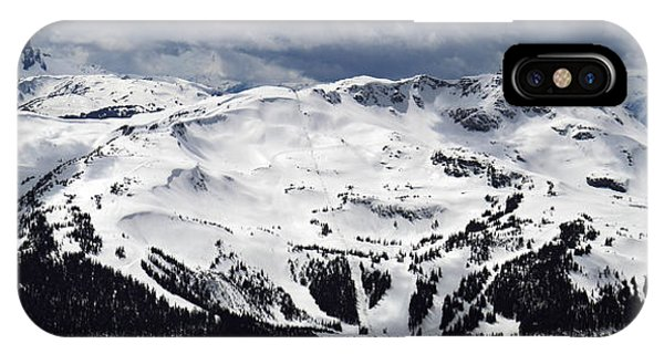 IPhone Case featuring the photograph Whistler Mountain View From Blackcomb by Pierre Leclerc Photography