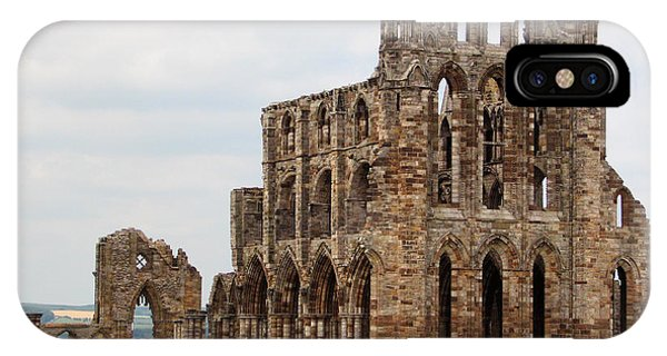 IPhone Case featuring the photograph Whitby Abbey by Susan Leonard