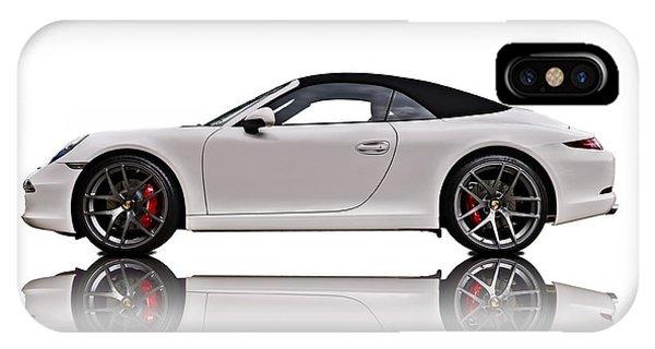 Luxury iPhone Case - White 911 by Douglas Pittman