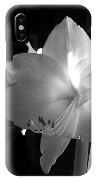 White Amaryllis  IPhone Case