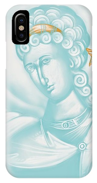 White Angel IPhone Case