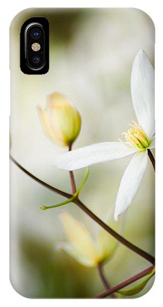 White Awake IPhone Case