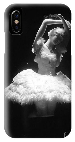 White Ballerina IPhone Case