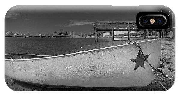White Boat Phone Case by Dapixara Art