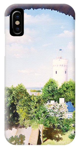 White Castle In Tallinn Estonia IPhone Case