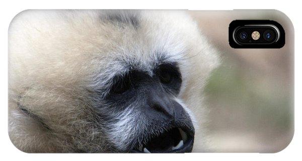 White-cheeked Gibbon - 0009 IPhone Case