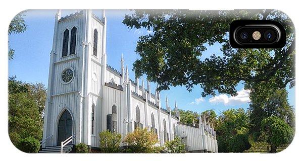 White Church IPhone Case