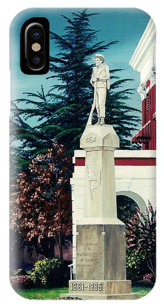 White County Courthouse - Civil War Memorial IPhone Case