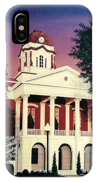 White County Courthouse IPhone Case