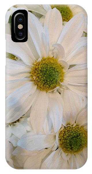 White Daisies IPhone Case