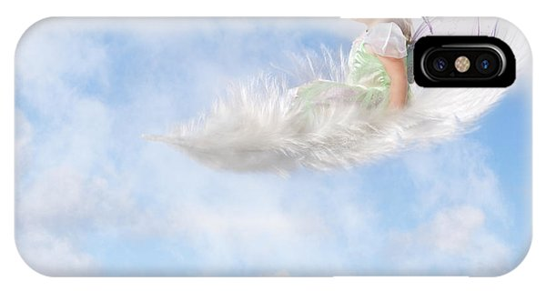 White Feather Dream IPhone Case