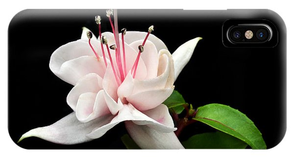 White Fuchsia. IPhone Case