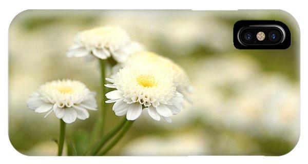 White Garden II IPhone Case