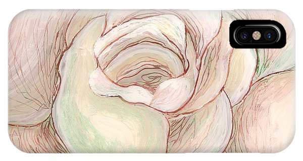 White Gardenia 2 IPhone Case
