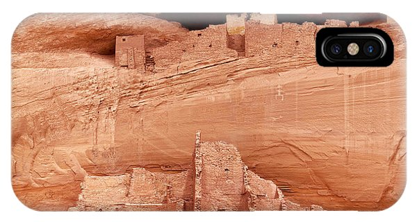 White House Ruins Canyon De Chelly IPhone Case