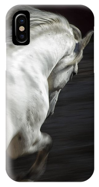 White Lightning IPhone Case