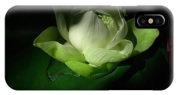 White Lotus Unfolding IPhone Case