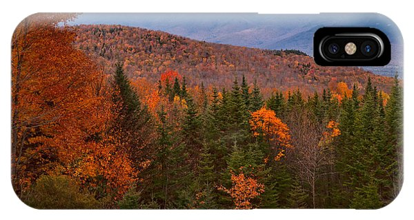 White Mountains Drama IPhone Case