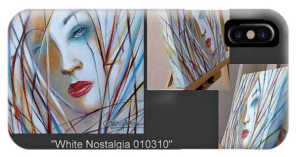 White Nostalgia 010310 Comp IPhone Case