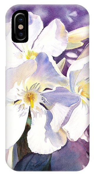White Oleander IPhone Case