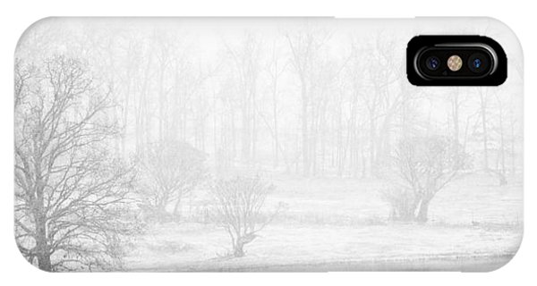 White Out II IPhone Case