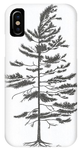 White Pine IPhone Case