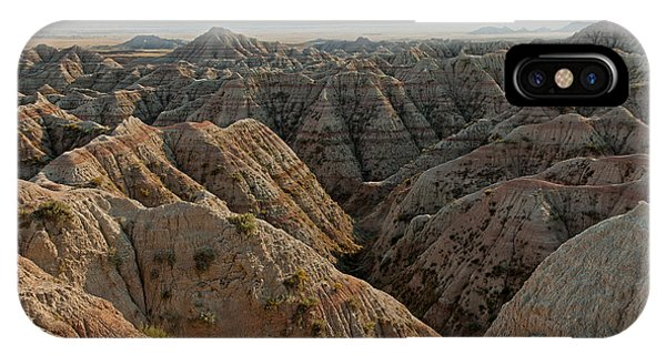 White River Valley Overlook Badlands National Park IPhone Case