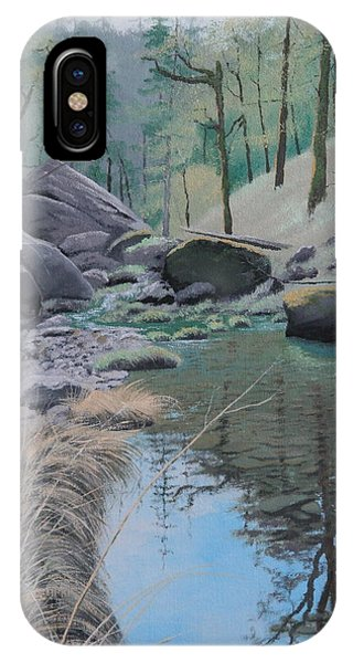 White Rock Creek IPhone Case