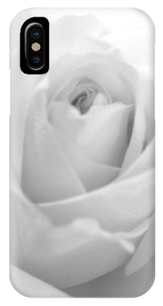 IPhone Case featuring the photograph White Rose by Marian Palucci-Lonzetta