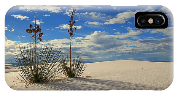 White Sands Afternoon 2 IPhone Case