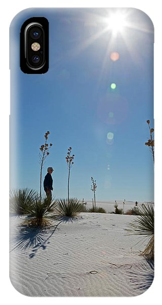 Adapted iPhone Case - White Sands National Monument by Jim West