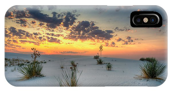 White Sands Sunrise IPhone Case