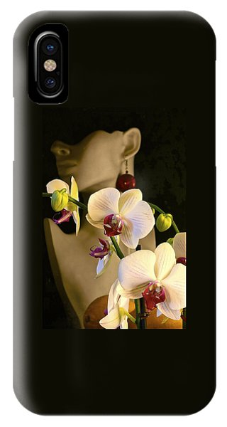 White Shoulders IPhone Case