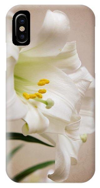 White Softness IPhone Case