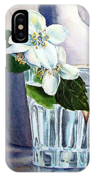 White White Jasmine  IPhone Case