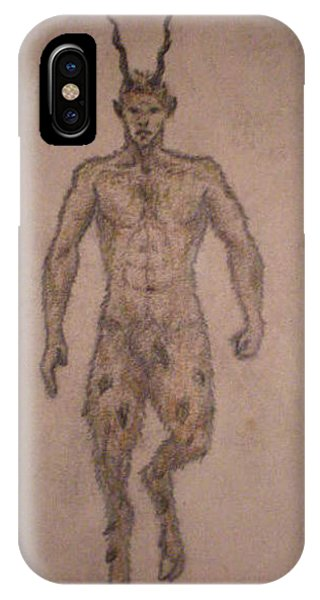 White Wolf Character 6 Phone Case by Steve Spagnola