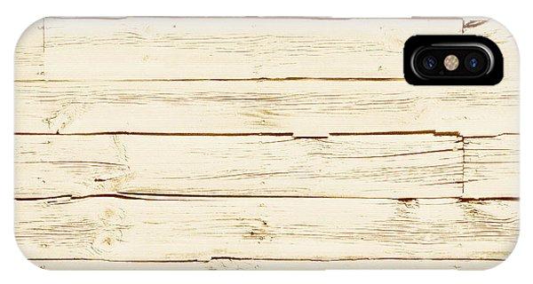 White Wood IPhone Case
