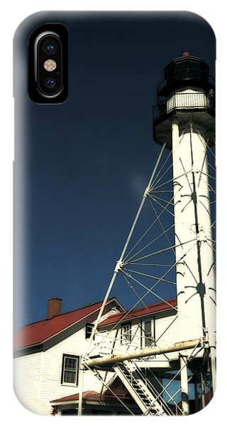 Whitefish Point Light Station IPhone Case