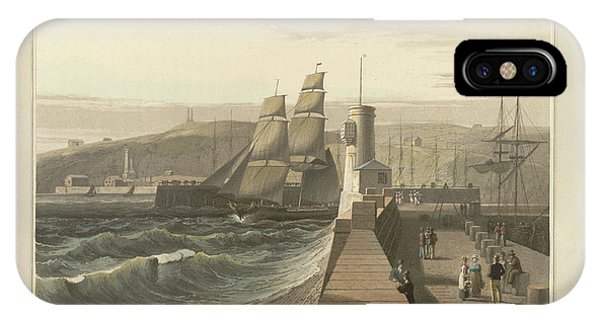 Whitehaven Port In Cumberland IPhone Case