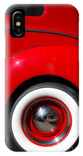 Auto Show iPhone Case - Whitewalls Two by Edward Fielding