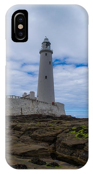 Whitley Bay St Mary's Lighthouse IPhone Case