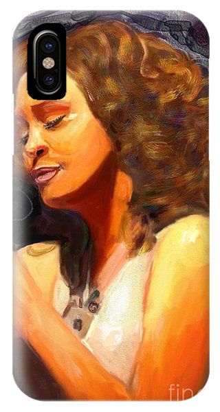 Whitney Gone Too Soon IPhone Case