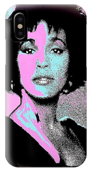 Whitney Houston Sing For Me Again IPhone Case